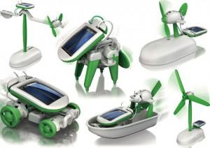 solar robot op zonne-energie